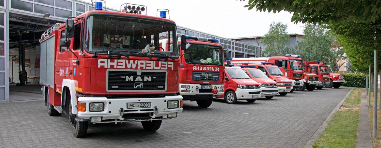 Fuhrpark Feuerwehr Strausberg